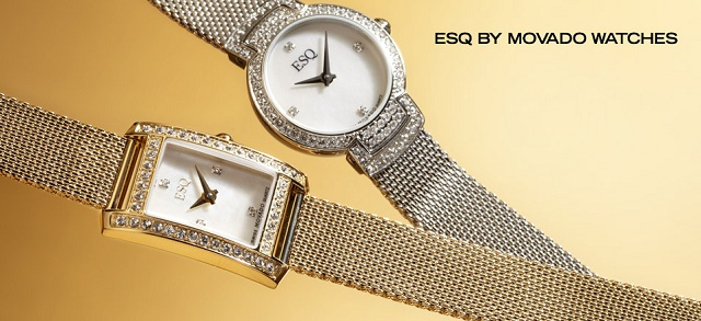 ESQ by Movado Watches at MYHABIT