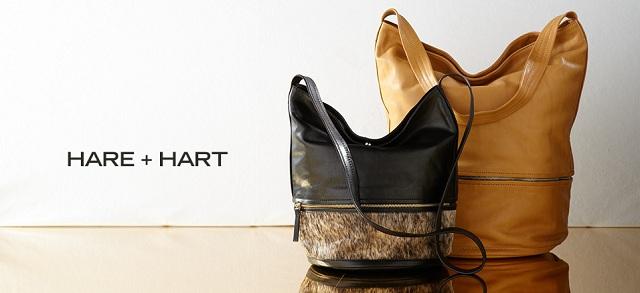 Hare + Hart Handbags at MYHABIT