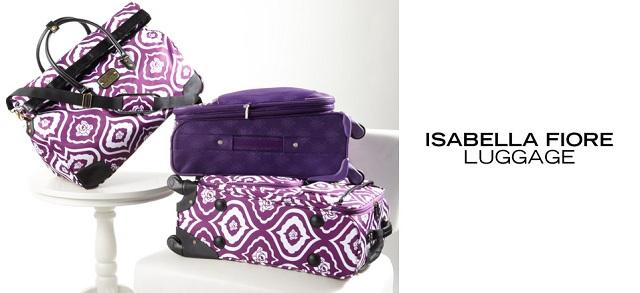 Isabella Fiore Luggage at MYHABIT