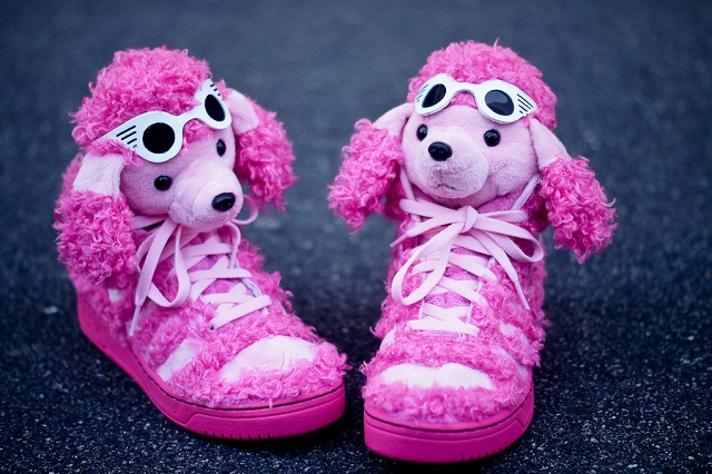 hot sale online 1c248 e0544 Jeremy Scott x adidas Originals JS Pink Poodle   LifeStyle Fancy