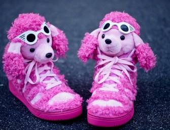 Jeremy Scott x adidas Originals JS Pink Poodle