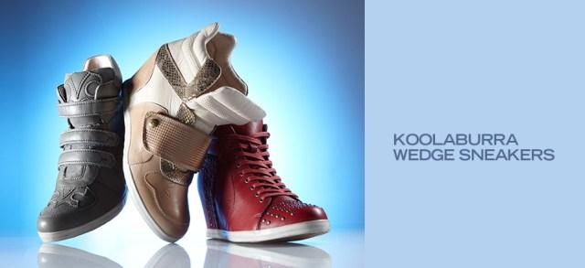 Koolaburra Wedge Sneakers at MYHABIT