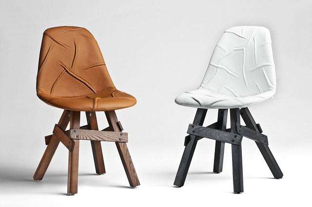 Kubikoff Icon POP Walnut Chair
