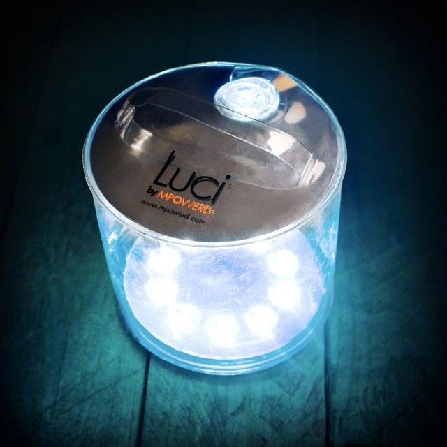 Luci Inflatable Solar LED Lantern by MPOWERD