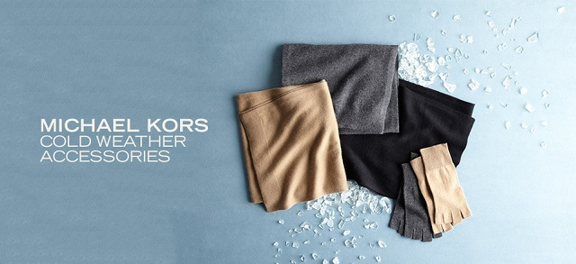 Michael Kors Cold Weather Accessories at MYHABIT