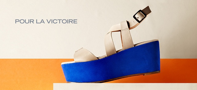 Pour La Victoire Shoes at MYHABIT