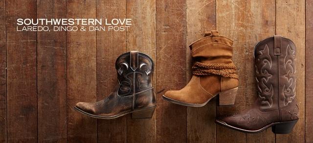 Southwestern Love: Laredo, Dingo & Dan Post at MYHABIT