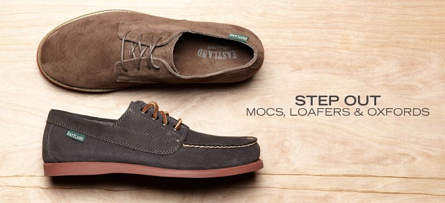 Step Out: Mocs, Loafers & Oxfords at MYHABIT