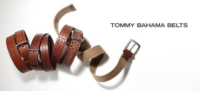 Tommy Bahama Belts at MYHABIT