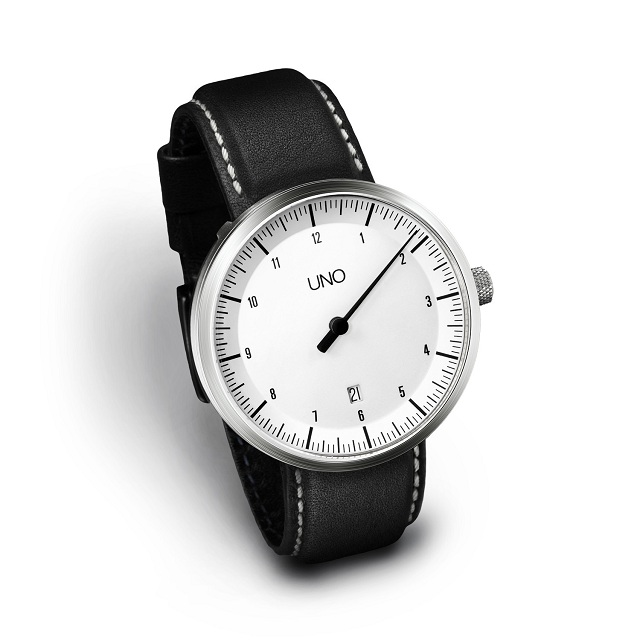 Uno 24 - One Hand Men's Watch by Botta-Design_1
