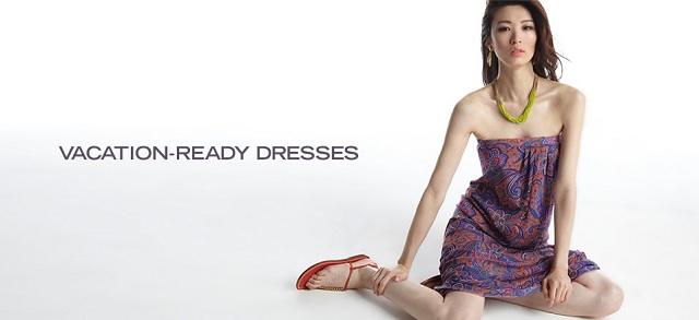 Vacation-Ready Dresses at MYHABIT