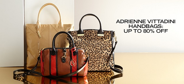 Adrienne Vittadini Handbags: Up to 80% Off at MYHABIT