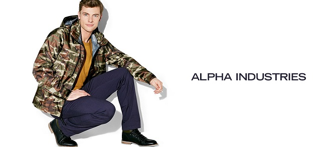 Alpha Industries at MYHABIT