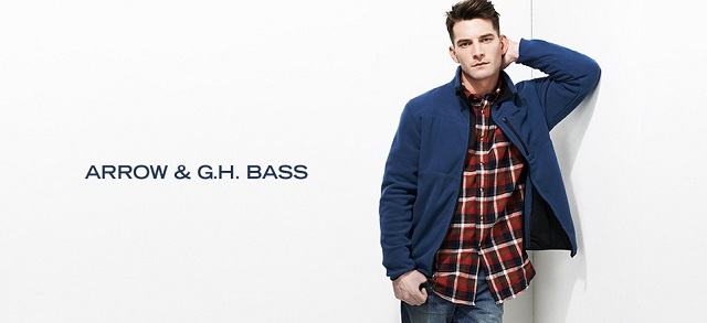 Arrow & G.H. Bass at MYHABIT