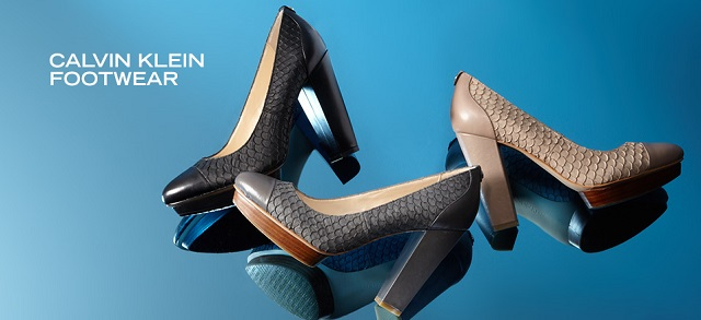 Calvin Klein Women's Footwear at MYHABIT