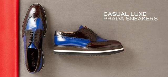 Casual Luxe Prada Sneakers at MYHABIT