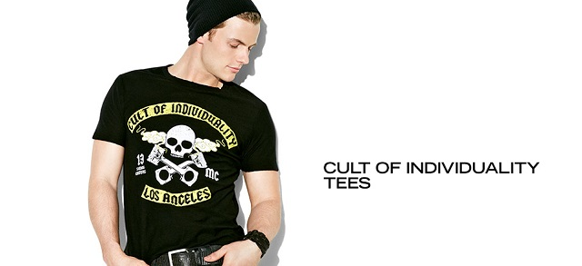 Cult of Individuality Tees at MYHABIT