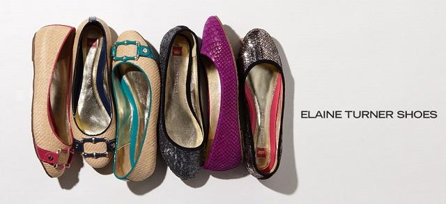 Elaine Turner Shoes at MYHABIT