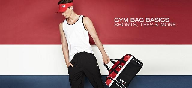 Gym Bag Basics Shorts, Tees & More at MYHABIT
