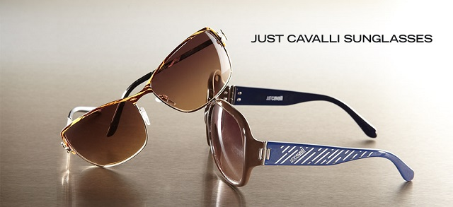 Just Cavalli Sunglasses at MYHABIT