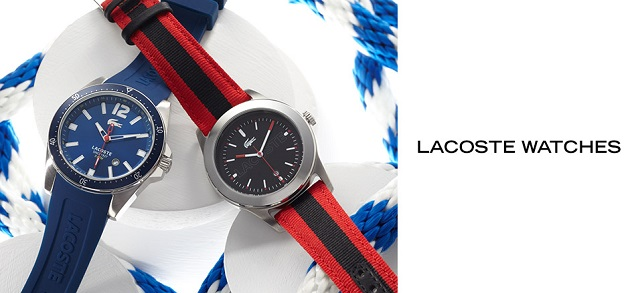 Lacoste Watches at MYHABIT