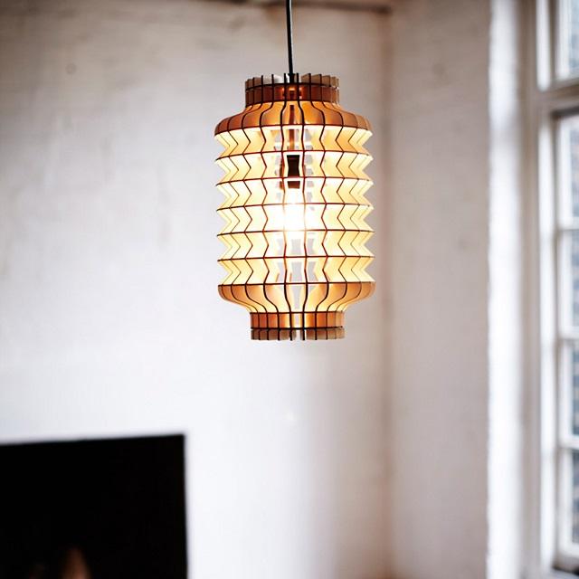 Lantern Lamp by Massow Design