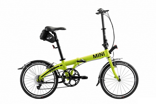 MINI Cooper Folding Bike Lime
