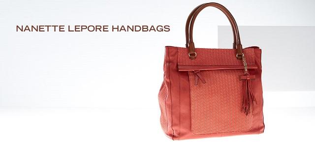 Nanette Lepore Handbags at MYHABIT