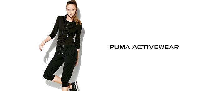 PUMA Activewear at MYHABIT