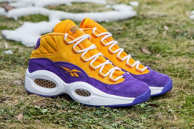 Sneakersnstuff x Reebok Question Mid The Crocus