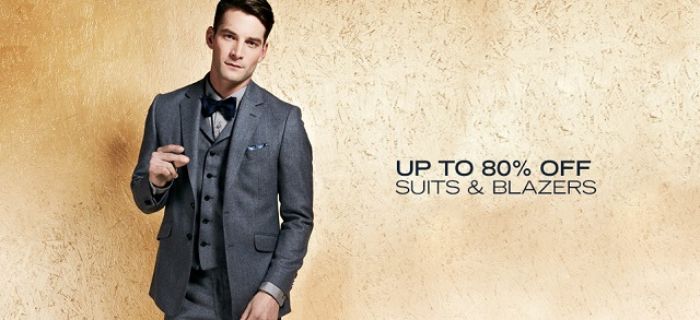 Up to 80% Off: Suits & Blazers at MYHABIT