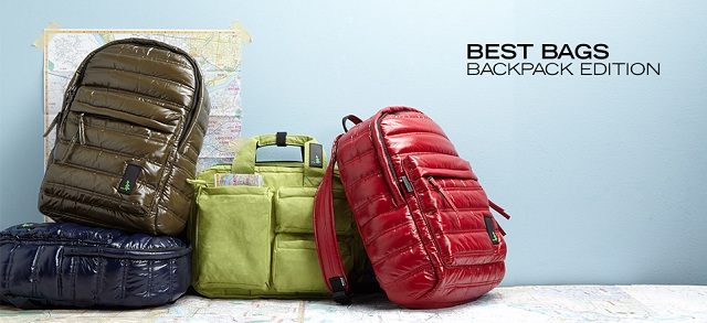 Best Bags Backpack Edition at MYHABIT