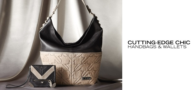 Cutting-Edge Chic Handbags & Wallets at MYHABIT