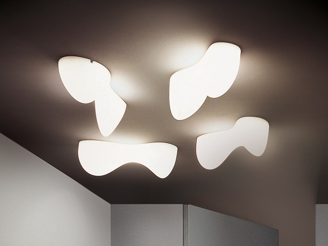Foscarini Blob S Wall Ceiling Light_2