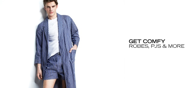 Get Comfy Robes, PJs & More at MYHABIT