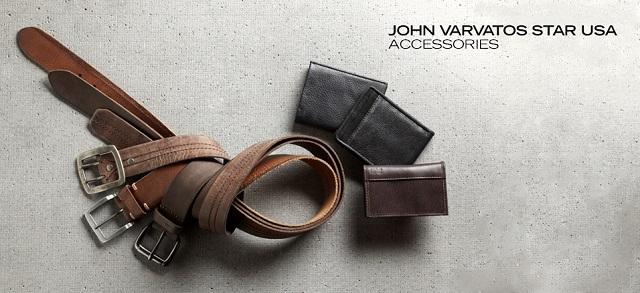 John Varvatos Star USA Accessories at MYHABIT