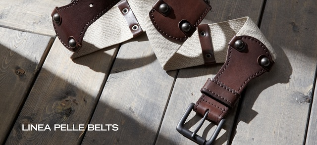 Linea Pelle Belts at MYHABIT
