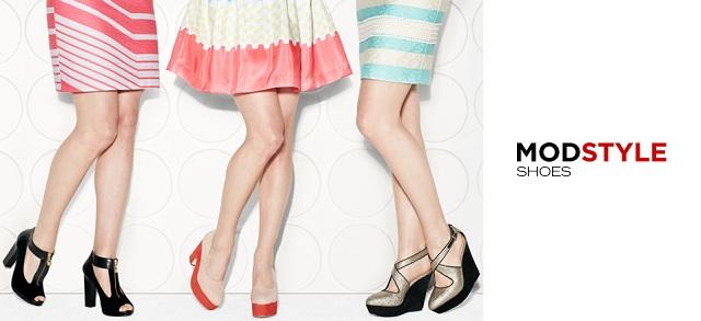 Mod Style Shoes at MYHABIT