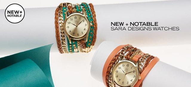 New + Notable Sara Designs Watches at MYHABIT