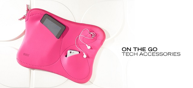 On the Go Tech Accessories at MYHABIT