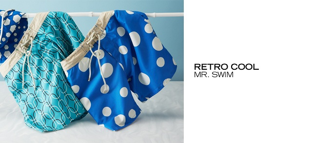 Retro Cool Mr. Swim at MYHABIT
