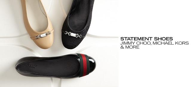 Statement Shoes Jimmy Choo, Michael Kors & More at MYHABIT
