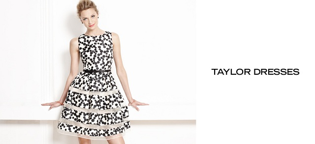 Taylor Dresses at MYHABIT