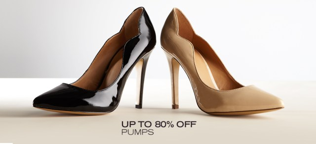 Up to 80 Off Pumps at MYHABIT