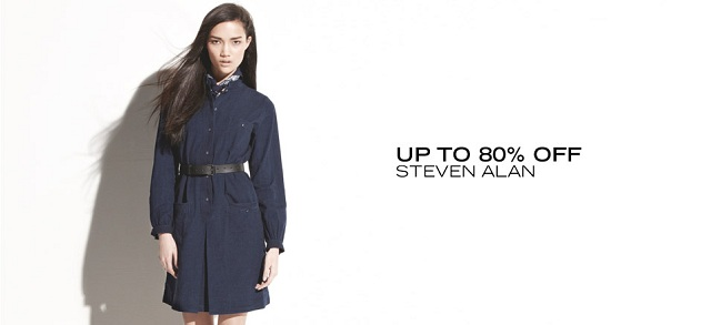 Up to 80 Off Steven Alan at MYHABIT