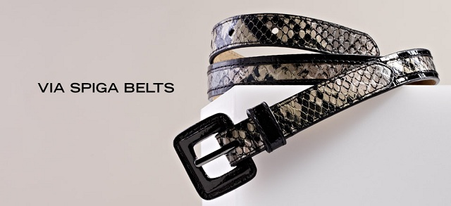 Via Spiga Belts at MYHABIT