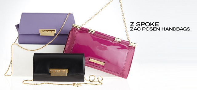 Z Spoke Zac Posen Handbags at MYHABIT