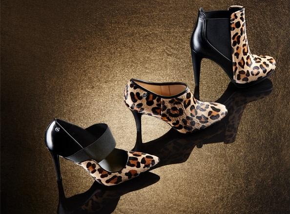 Calvin Klein Leopard Print Pumps