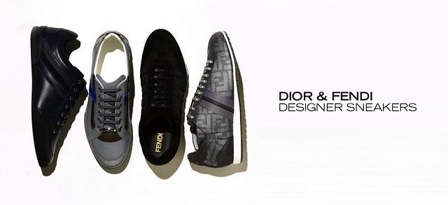 Dior & Fendi Designer Sneakers at MYHABIT
