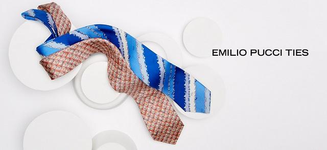 Emilio Pucci Ties at MYHABIT